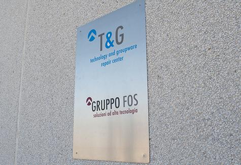 Gruppo-FOS_TeG_Repair-Center_Caserta_Telecomunicazioni_ingresso
